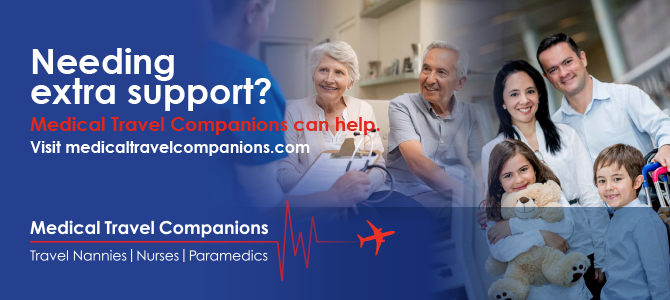 Dreaming of travel but need extra support? Medical Travel Companions can help. Visit medicaltravelcompanions.com. Medical Travel Companions. Travel Nannies | Nurses | Paramedics